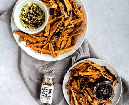 Everything Bagel Sweet Potato Fries