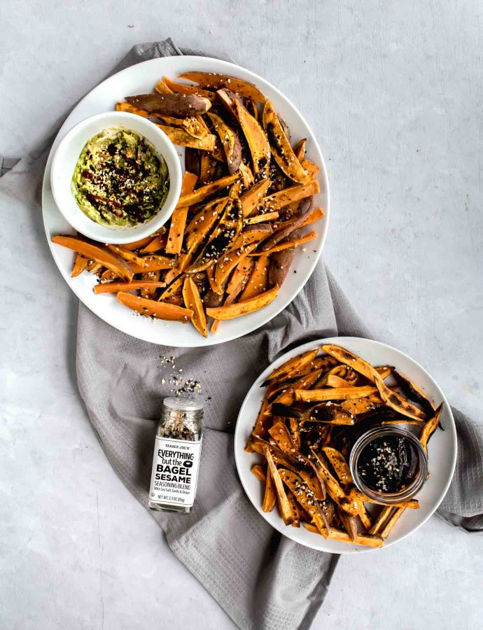 Everything Bagel Sweet Potato Fries