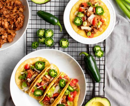Vegan BBQ Jackfruit Tacos