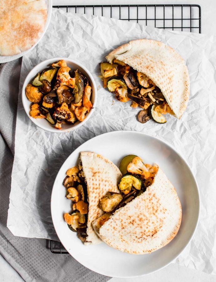 Mediterranean Pita Sandwich