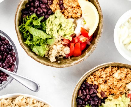 Mexican Quinoa Bowls with Sofritas